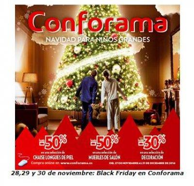 conforama pone en marcha su campaa de compras de navidad con el black friday