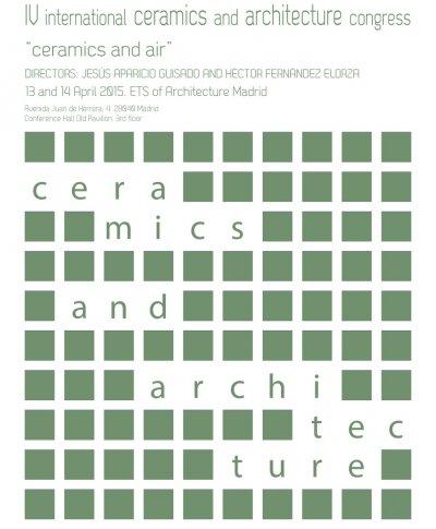 iv congreso internacional de cermica y arquitectura
