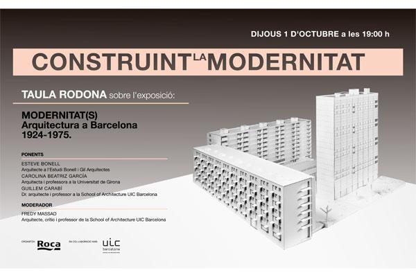 construyendo la modernidad un debate para comprender la arquitectura moderna en barcelona