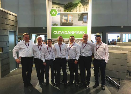cupa group presenta la nueva identidad corporativa de su filial en dinamarca