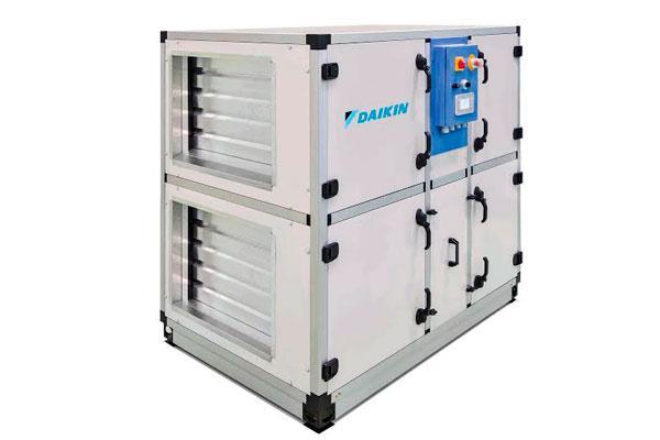 daikin presenta su unidad de tratamiento de aire ms silenciosa compacta y eficiente
