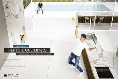 dekton by cosentino lanza su nueva campaa de publicidad junto al tenista rafa nadal