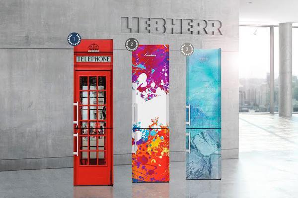 el diseo ms atractivo y creativo para los frigorfico liebherr