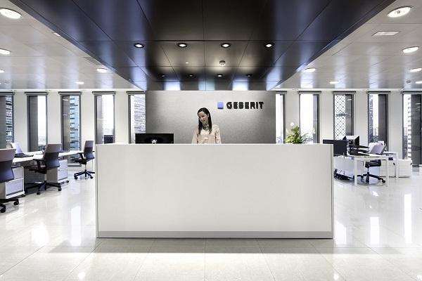 luz diseo y funcionalidad en las nuevas oficinas geberit