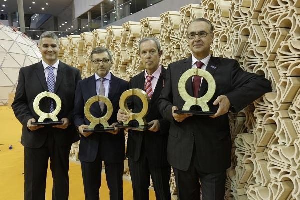 eficretaprint vidres vernis y bouquet ceramic ganan los premios alfa de oro