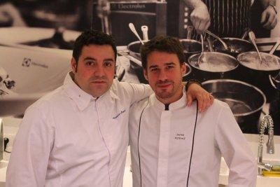 electrolux reta en los fogones a dos concursantes de top chef
