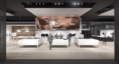 electrolux rene en su stand de eurocucina a chefs internacionales