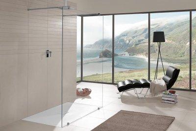 elegante variedad de duchas a medida villeroy  boch