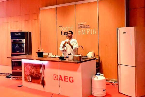 aeg eleva el sabor a otro nivel en los talleres de madrid fusin 2016