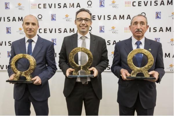 las empresas zschimmer  schwarz bestile y color esmalt ganan los premios alfa de oro 2017