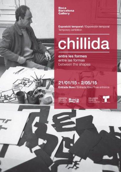exposicin de chillida en el roca barcelona gallery con obras y objetos reconocibles por su comn lenguaje