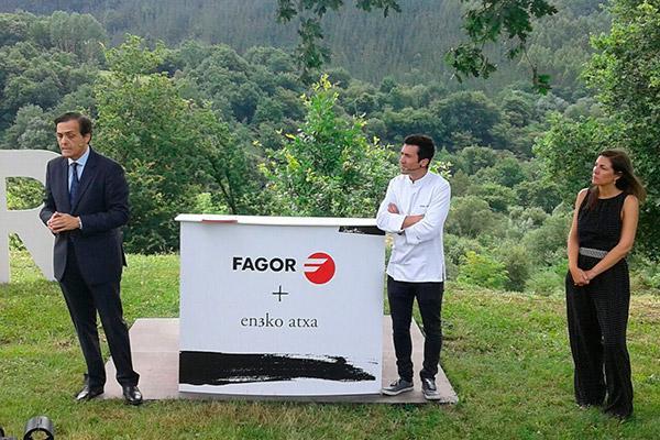 fagor y el chef eneko atxa unen fuerzas en su apuesta por la innovacin