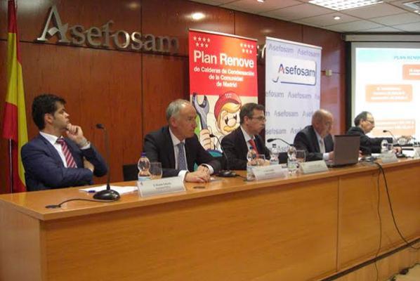 fegeca participa en la presentacin del plan renove de salas de calderas de madrid