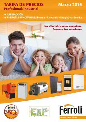 ferroli presenta sus tarifas de calefaccin y energas renovables