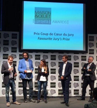 font barcelona galardonada con el premio de favorito del jurado en los premios project maison  objet 2014