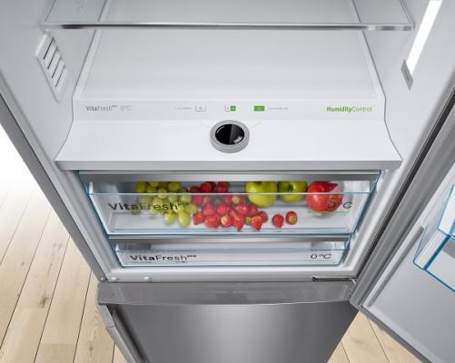 los frigor ficos vitafresh de bosch mantienen los alimentos frescos m s tiempo. Black Bedroom Furniture Sets. Home Design Ideas
