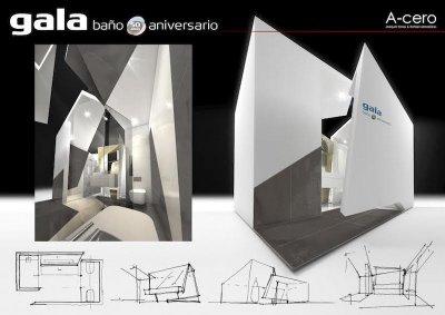 gala present en madrid el bao del aniversario