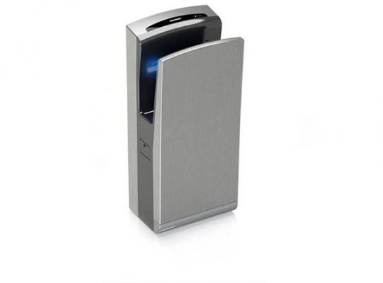 genebre presenta el secador de manos de genwec washroom