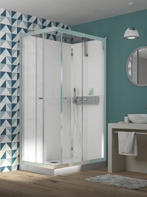grandform presenta las cabinas de ducha eden de montaje rpido