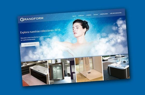 grandform renueva su web corporativa