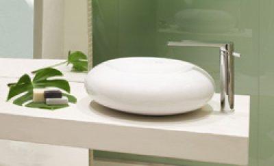 griferas con cao alto de ramon soler para lavabos exentos