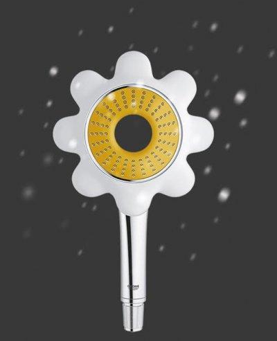 grohe apuesta por sus teleduchas rainshower flower como regalo en navidad