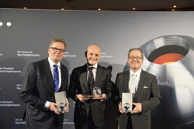 grohe se convierte en uno de los tres ganadores del premio alemn de sostenibilidad