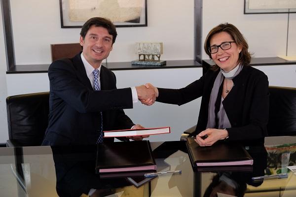 grohe firma un convenio con el colegio de arquitectos de catalua