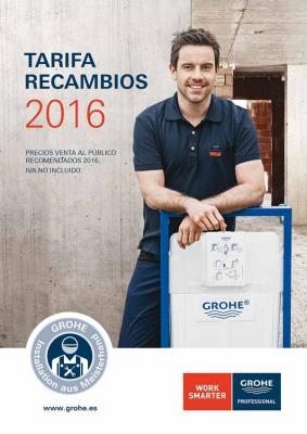 grohe lanza su nueva tarifa recambios 2016