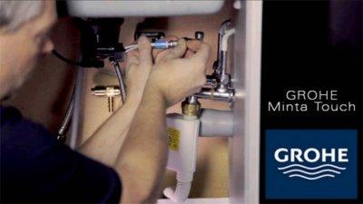 grohe ofrece un prctico manual de instalacin de grohe minta touch
