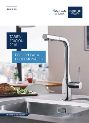 Grohe presenta su nueva tarifa 2016 para cocina for Tarifa grohe
