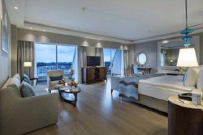 grohe presente en hotel de cinco estrellas titanic deluxe belek hotel en la riviera turca