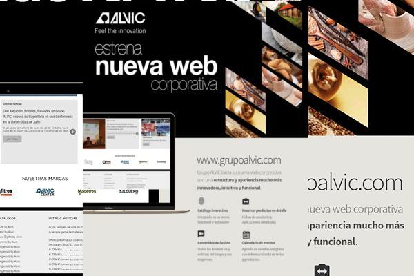 grupo alvic lanza su nueva web