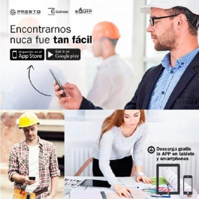 grupo presto ibrica presenta su nueva app