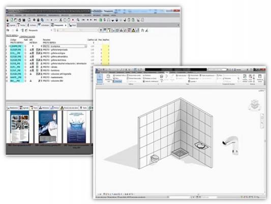 grupo presto ibrica presenta su catlogo con productos en formato bim
