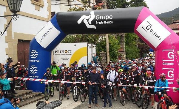 grupo presto ibrica en la saltoki cycling xperience