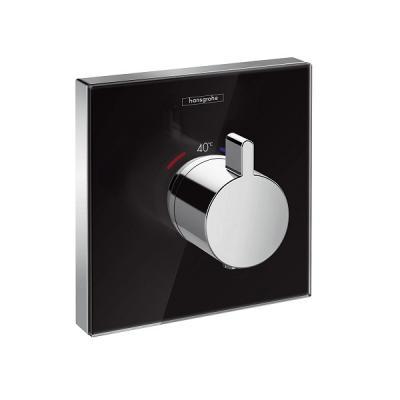 hansgrohe incorpora el cristal en sus termostatos