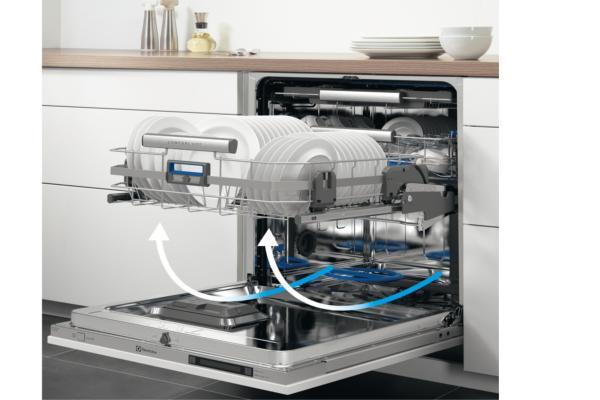 hettich presenta el sistema comfortswing para el lavavajillas