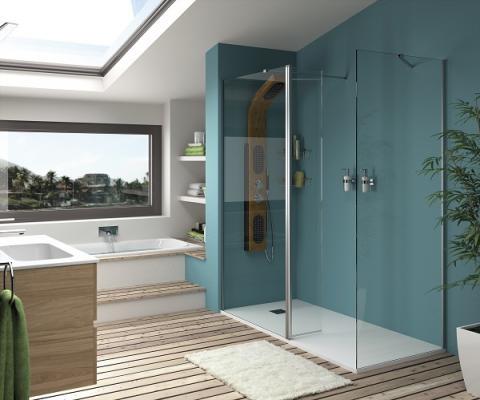 innovacin en la ducha con las mamparas heaven y helsinki de salgar