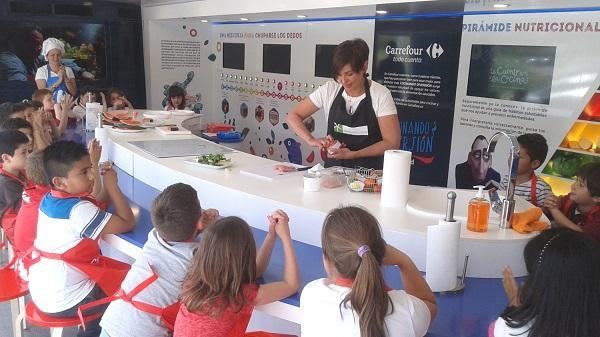 instituto silestone y carrefour potencian la alimentacin segura entre los escolares