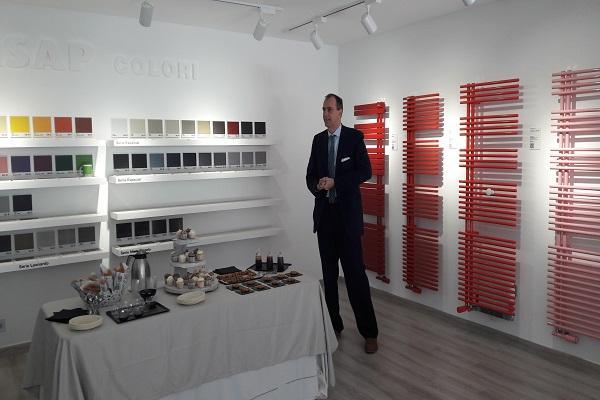 irsap inaugura nuevo showroom en barcelona