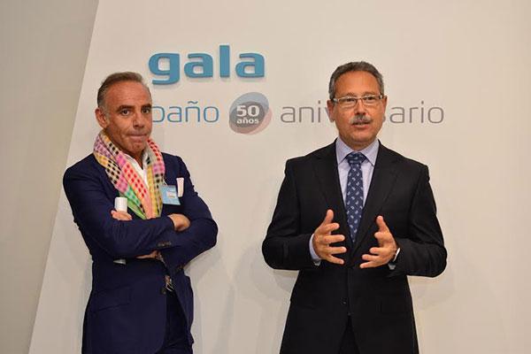 joaqun torres presenta el bao conmemorativo del 50 aniversario de cermicas gala
