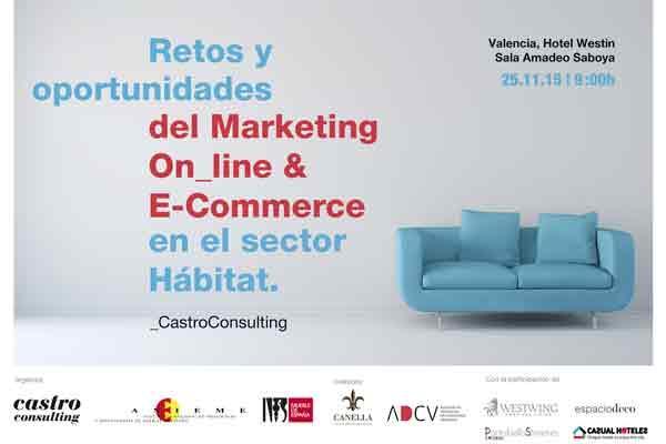 jornada sobre retos y oportunidades del marketing digital y el ecommerce en el sector hbitat de anieme