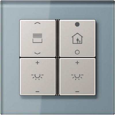 jung lanza teclados y mandos a distancia para instalaciones smart home knx