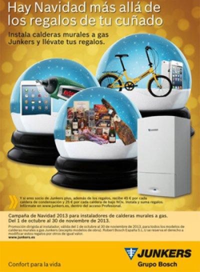 junkers se anticipa a la navidad con una campaa de ventas para instaladores