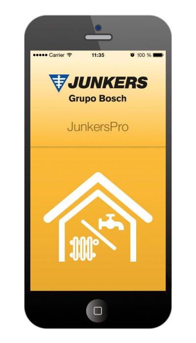 junkers presenta su nueva aplicacin junkers pro