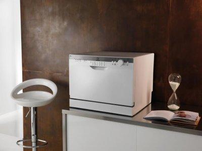 lavavajillas compacto de indesit con capacidad para 6 servicios