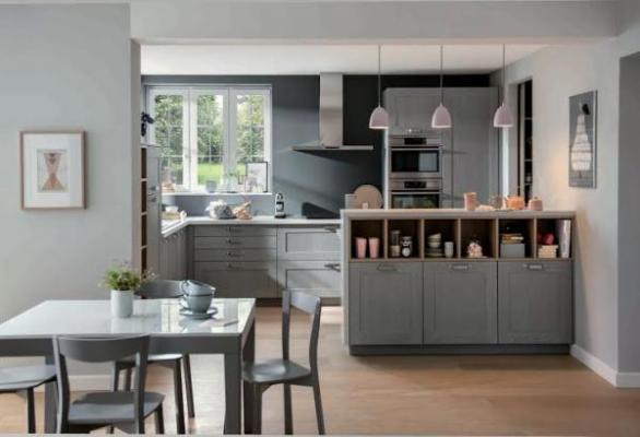 La madera es la reina con schmidt cocinas for Separer une cuisine ouverte