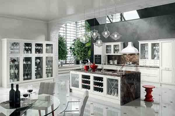 magistra una cocina moderna que evoca pocas pasadas de aran cucine