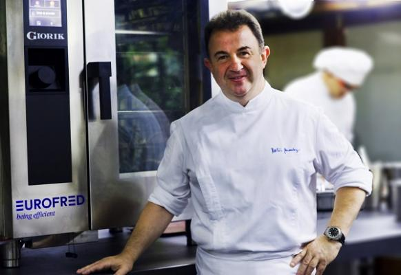 martn berasategui incorpora a su cocina la tecnologa de giorik con eurofred